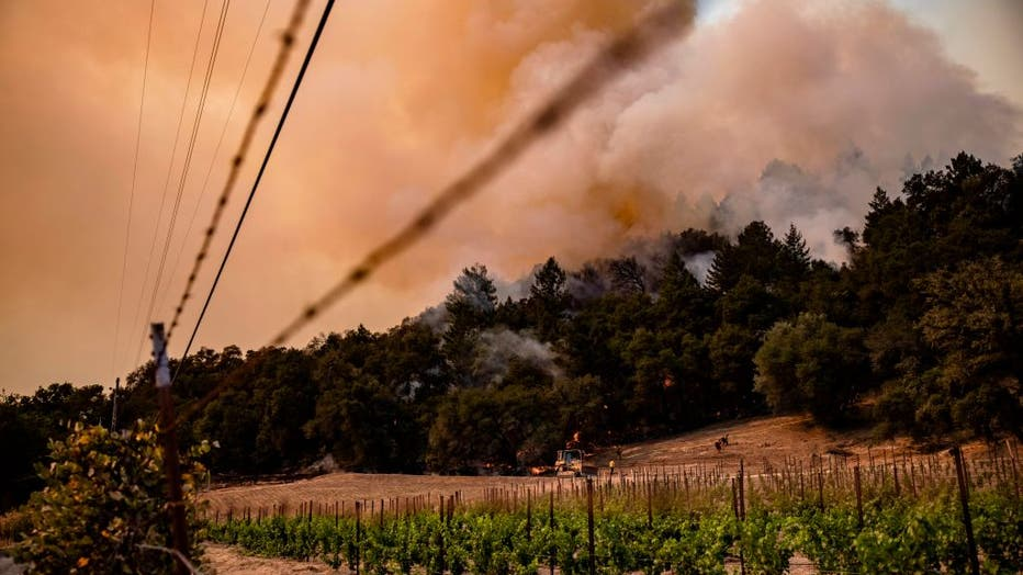 Calistoga fire