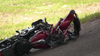 HPD: Motorcyclist dead after allegedly racing vehicle on I-45
