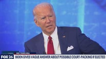 Instead of a debate Joe Biden holds a town hall discussion - What's Your Point?