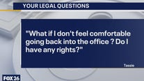 Your Legal Questions: Returning to the office; parking; no will