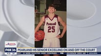 Pearland HS senior excelling on and off the court
