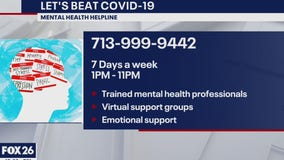 Beat COVID-19 Mental Health Helpline