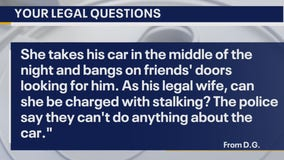 Your Legal Questions: Car repairs; stalking