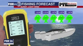 Fishing forecast for Saturday October 3