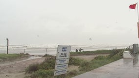 Galveston preparing for effects of Hurricane Delta