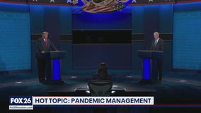 The Presidential debate managing the pandemic