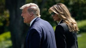 Melania Trump postpones campaign trip due to a cough related to COVID-19