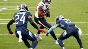 Texans fall in tight OT game against Titans