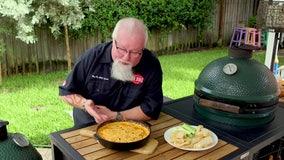 Recipe: Smoked Buffalo chicken dip