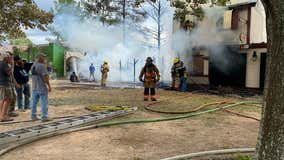 Fire burns structures at Texas Renaissance Festival