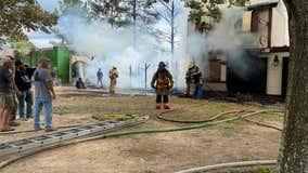 Fire burns structures at Texas Renaissance Festival