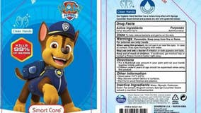 Hand sanitizer for kids recalled over packaging that resembles food, drink containers