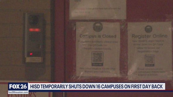 COVID-19 shuts down 16 HISD school first days back in person