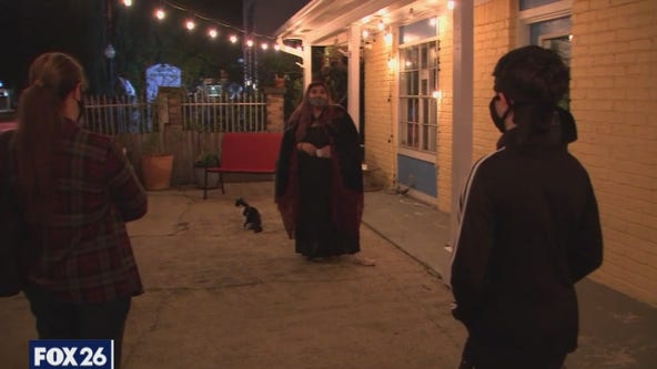 Houston Ghost Tour in Historic Old Town Spring