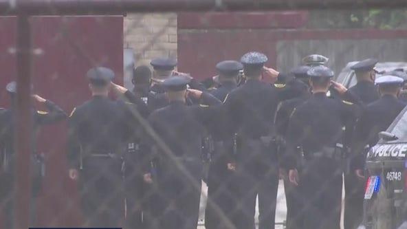 Procession held for fallen Houston Police Sgt. Harold Preston