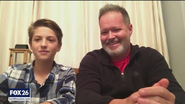 Father and son spring into action to help return wallet containing over $700
