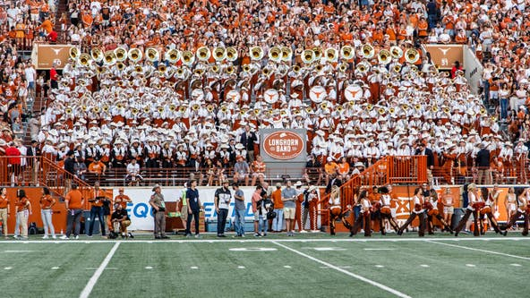 "UT Longhorn band won't play ""The Eyes of Texas"" this weekend after some members say they're unwilling"