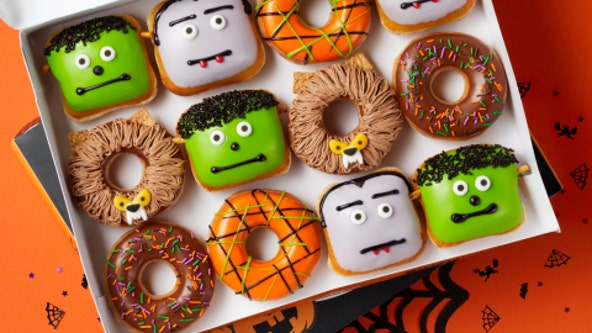 Krispy Kreme offering free Halloween doughnut to anyone who shows up in costume