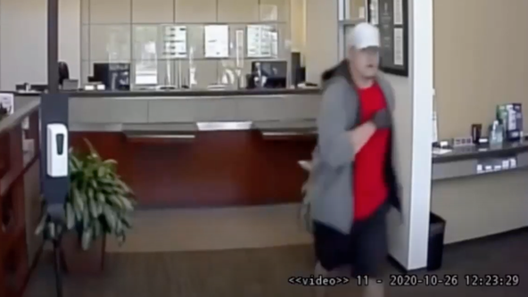 Police search for man wanted in attempted bank robbery in Humble