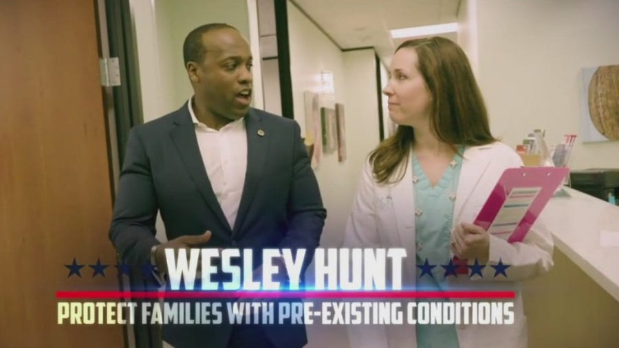 State politicians battle over health care access in political ads