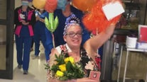Houston-area woman released from the hospital after having COVID-19