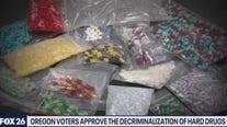 Oregon decriminalizes hard drugs