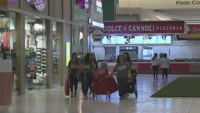 Black Friday shopping at Memorial City Mall in Houston