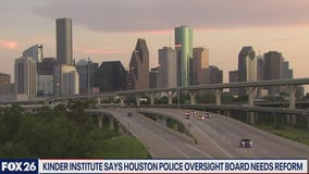 The Kinder Institute report says Houston's  police oversight board needs reform