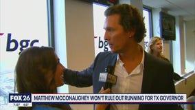 Matthew McConaughey for governor