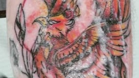 Local artist offering free tattoos to cover up scars one may have received from hurting themselves