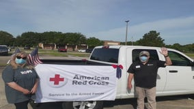Houston military veterans gather to volunteer with Red Cross on Veteran's Day