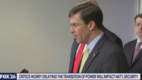Delaying the transition of power and our national security - What's Your Point?