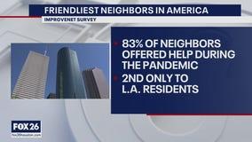 Friendly neighbors in Houston
