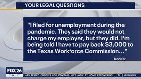 Your Legal Questions: Unemployment benefits; possession order; civil suit
