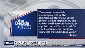 Your Legal Questions: Election and voting