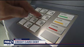 Absent new stimulus, wealthy pay off credit cards, while others dive deeper into debt