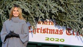 Melania Trump welcomes Christmas tree, kicks off holiday season at White House