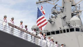 Navy destroyer USS Michael Murphy sees positive COVID-19 results for nearly 1 in 4 sailors