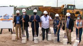 World's largest White Castle breaks ground in Central Florida