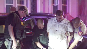 Suspect leads police on chase from Galveston to north Houston, K9 unit searching for passenger