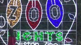 Houston Zoo Lights closed Saturday due to heavy rain