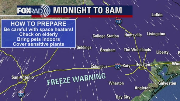 Houstonians celebrate chillier temps during ongoing freeze warning