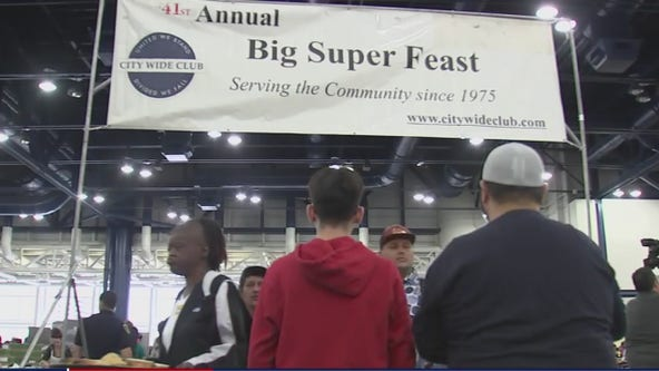 Houston's 'Super Feast' is drive through, walk up event due to COVID-19