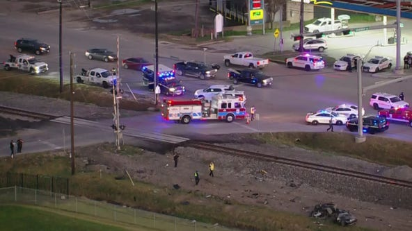 SUV driver charged after deadly Harris County crash involving Amtrak train