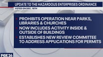 New hazardous business ordinance, a  first step to zoning?   What's Your Point?