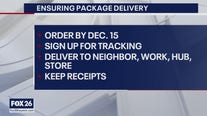 Ensuring your packages get delivered this holiday