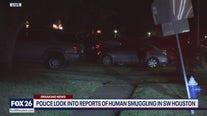 Human smuggling operation reported in SW Houston