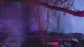 1 dead after explosion, fire at Tomball home