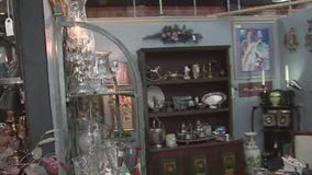 Shopping local at A.G. Antiques on 19th Street