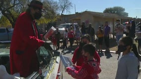 Pancho Claus leads toy drive, helps to raise thousands for kids in Houston's East End